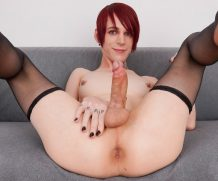 Groobygirls Scarlet Rose's Orgasm!  Tranny XXX Siterip