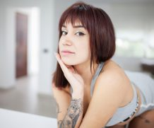 Suicidegirls not a morning person  Siterip  Imageset 5200px  Multimirror