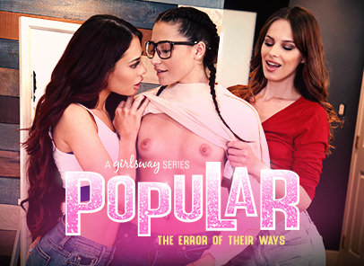 Girlsway Popular 3: The Error Of Their Ways feat Jillian Janson  WEB-DL FAMENETWORK 2019 mp4 Siterip RIP