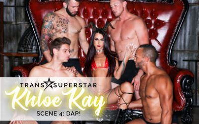 Transsexualangel Pierce Paris in TS Superstar Khloe Kay Sc. 4: DAP!  Siterip 1080p h.264 Video FameNetwork