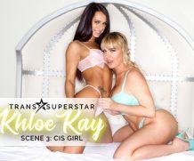 Transsexualangel Dana DeArmond in TS Superstar Khloe Kay Sc. 3: Cis Girl  Siterip 1080p h.264 Video FameNetwork