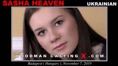 WoodmancastingX.com Sasha Heaven Release: 5:37  WEB-DL Mutimirror h.264 DVX