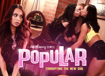 Girlsway Popular 1: Corrupting The New Girl feat Aidra Fox  WEB-DL FAMENETWORK 2019 mp4 Siterip RIP