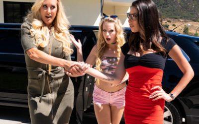 Girlsway My Mom Does WHAT?? feat Brandi Love  WEB-DL FAMENETWORK 2019 mp4
