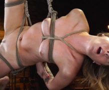 hogtied Charlotte Sins in Charlotte Sins: Tall Blonde Beauty Makes Her Debut  Video Clip Siterip Kink 720p mp4