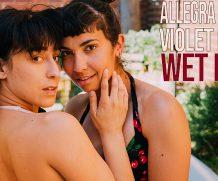 GirlsoutWest Allegra & Violet Russo – Wet Love  Video  Siterip 720p mp4 HD