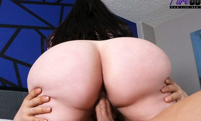 Pure-BBW massive booty beauty gets the D  SITERIP XXX h.264 VIDEOCLIP