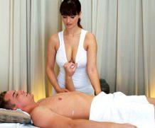 Massagerooms Masseuse Enjoys Her Client's Hard Cock at SexyHub.com  Siterip 1080p H264