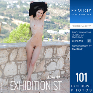 FEMJOY Exhibitionist feat Leona Mia release January 14, 2020  [IMAGESET 4000pix Siterip NUDEART] Siterip RIP