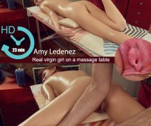 Virginmassage Amy Ledenez, 18 y.o.  WEB-DL  XXX h.265 Multimirror