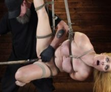 hogtied Penny Pax: Blue-Eyed Redhead Damsel Tormented in Strict Bondage feat. Penny Pax  WEBRIP  480p h.265 Multimirror