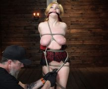 hogtied hogtied Penny Pax: Blue-Eyed Redhead Damsel Tormented in Strict Bondage Jan 15, 2020[Kink.com]  Siterip BDSM h.264