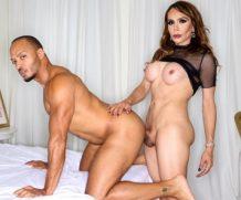 Transsexualangel Dillon Diaz in TS Sofia Sanders Buttfucks A Stud!  Siterip 1080p h.264 Video FameNetwork