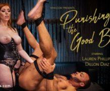 divinebitches Punishing the Good Boy: Kinky Couple Explores FemDom Punishment & Pain feat. Lauren Phillips  WEBRIP  480p h.265 Multimirror