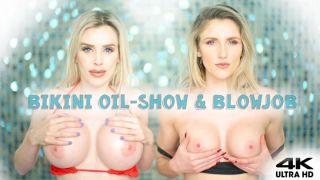 MANYVIDS RoxyCox in Bikini Judge Gets Oily Titfuck Facial  Video Clip WEB-DL 1080 mp4