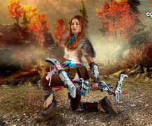 Cosplayerotica Aloy   Horizon Zero Dawn  Siterip FULL IMAGESET (Movie+Image)