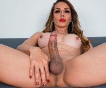 TGirl40 Big Boobs: Sofia Sanders' Climax  Shemale XXX WEB-DL Groobynetwork