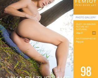 FEMJOY Vika By The Lake feat Vika P. release March 10, 2020  [IMAGESET 4000pix Siterip NUDEART]
