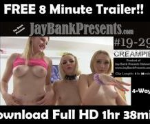 MANYVIDS JayBankPresents in FREE 8min Trailer #19-29 4way Creampie  Video Clip WEB-DL 1080 mp4
