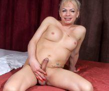TGirl40 Diana's Sweet Cum!  Shemale XXX WEB-DL Groobynetwork