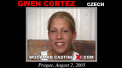 WoodmancastingX.com Gwen Cortez  Release: 5:42  WEB-DL Mutimirror h.264 DVX