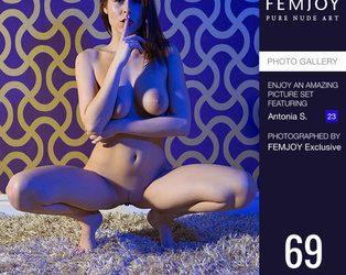 FEMJOY Femjoy Secrets: Antonia feat Antonia S. release May 9, 2020  [IMAGESET 4000pix Siterip NUDEART]
