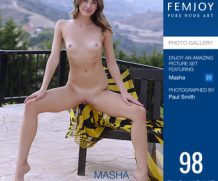FEMJOY Exhibitionist feat Masha release May 29, 2020  [IMAGESET 4000pix Siterip NUDEART]