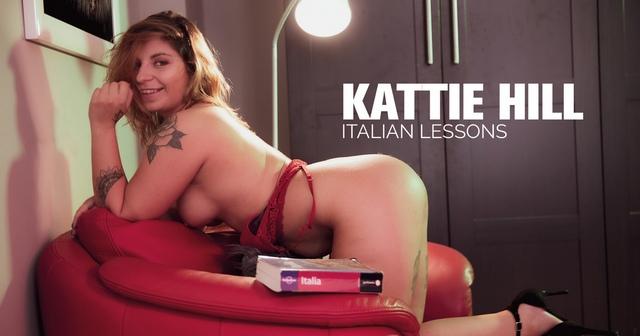 CzechCheeks.Com Kattie Hill - Italian Lessons  High-Res Photoset 5600px Siterip RIP
