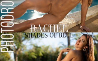 Photodromm Rachel – Shades of Blue  High-Res Photoset 5600px