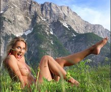 MPLStudios Cara Mell – Julian Alps  High-Res Photoset 5600px