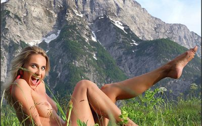 MPLStudios Cara Mell – Julian Alps  High-Res Photoset 5600px