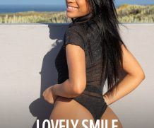Watch4Beauty Karin Torres – Lovely Smile  High-Res Photoset 5600px