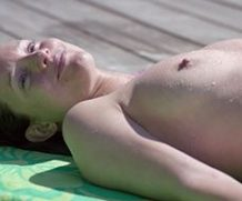 MrSkin Laurence Leboeuf Enjoys Some Topless Sunbathing in Keely and Du  WEB-DL Videoclip