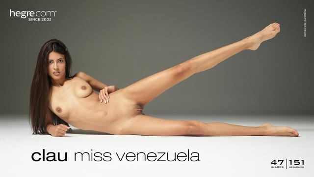 Hegre-Art Clau - Miss Venezuela  High-Res Photoset 5600px Siterip RIP