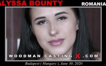WoodmancastingX.com Alyssa Bounty Release: 21:16  WEB-DL Mutimirror h.264 DVX