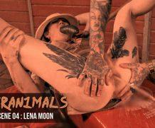 Transsexualangel Hell4Slootz in TS Lena Moon: Anal Gaping + Milk Enema  Siterip 1080p h.264 Video FameNetwork
