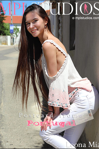 MPLSTUDIOS Leona Mia Postcard from Portugal  Picset Siterip Siterip RIP