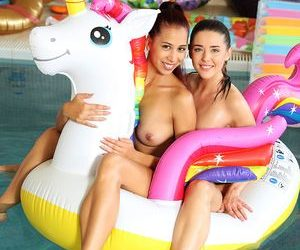 X-ART X-Art Sybil Unicorn pool HOT SEX  WEB-DL NRG 1080p mp4