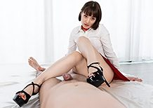 Legsjapan Mizuki Red Skirt Footjob  WEBRIP Video h.265 Multimirror