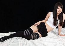 Legsjapan Sana Iori Black Skirt and Overknee Socks  WEBRIP Video h.265 Multimirror
