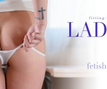 Fitting-Room Lady Dee – Fetishouse Series / My Tiny White Thong  High-Res Photoset 5600px