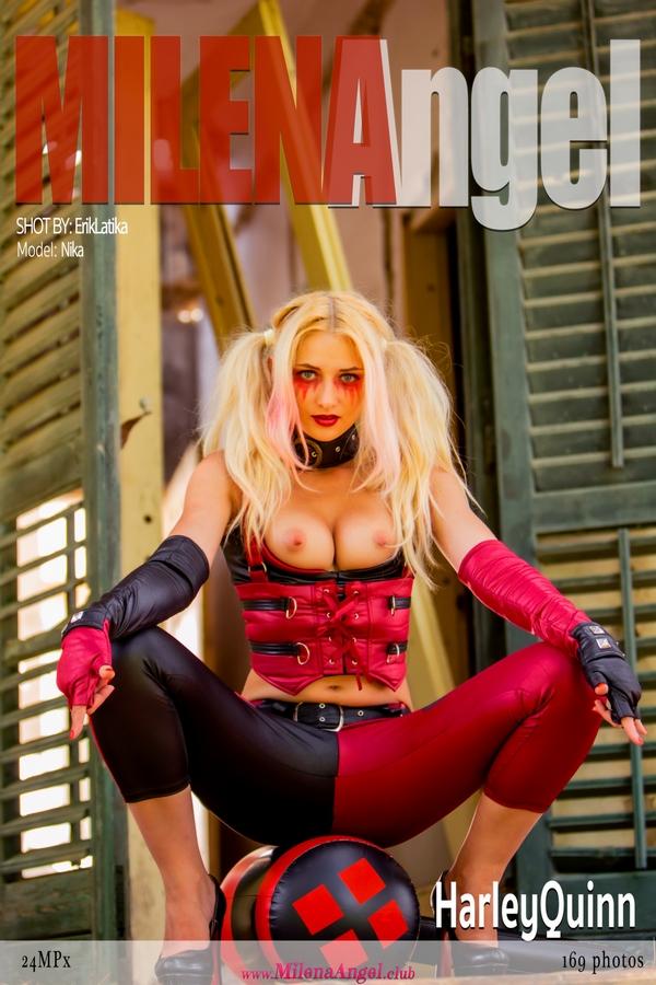 MilenaAngel.Club Nika - Harley Quinn  High-Res Photoset 5600px Siterip RIP