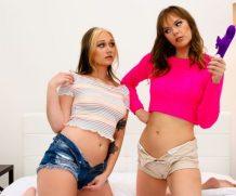 Famedigital Its Okay, Were Just STEP-Sisters! Gwen Vicious & Rebecca Vanguard  Siterip Video 1080p wmv