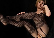 Legsjapan Kanna Otowa Black Body Stockings  WEBRIP Video h.265 Multimirror