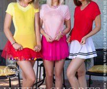 AmourAngels Jill, Kenia, Lisa – Wet T-Shorts  High-Res Photoset 5600px