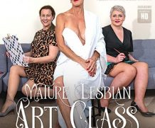 MATURE.NL Welcome to the mature lesbian Art class  [SITERIP VIDEO 2020 hd wmv 1920×1200]