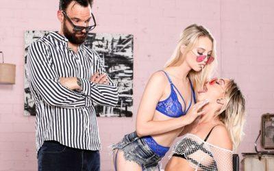 Famedigital Cum-Swap Cuties: Chloe Temple & Lily Larimar  Siterip Video 1080p wmv