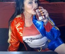MANYVIDS DirtyLesbians in Harley Quinn Burping Soda  Video Clip WEB-DL 1080 mp4
