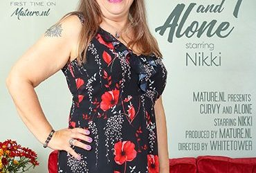 MATURE.NL Curvy mature Nikki is getting naughty when she's alone  [SITERIP VIDEO 2020 hd wmv 1920×1200]