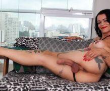 Transsexualangel Laiza Lavier in TS Laiza Lavier Jacks Off, Spews Semen  Siterip 1080p h.264 Video FameNetwork